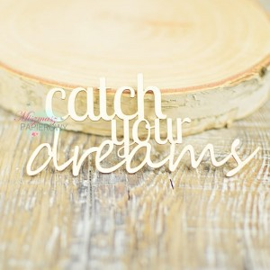 "Napis "" catch your dreams"""