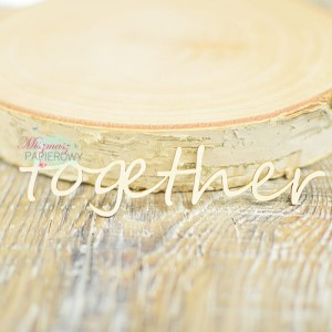 "Napis ""together"""